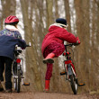 Children with bike — Lizenzfreies Foto