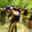Stock Photo: Bike race