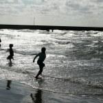 Beach activities — Stock Photo