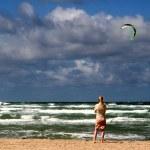 Beach activities — Stock Photo #7648838