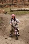 Bambino bici — Foto Stock