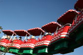Amusement park of legoland in denmark, miniature sceneries — Stock Photo