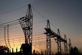 Electricity plant — Stock Photo