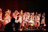 Filming ballet — Stock Photo