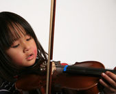 Violin child — Foto de Stock