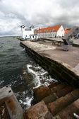 Danish coast — Stock Photo