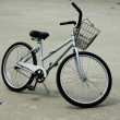 Beach bicycle — Stock Photo