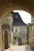 Village of Castelnaud — Stock Photo