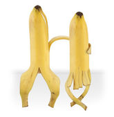 Funny bananas — Stock Photo