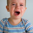 Crying boy - Stock Photo