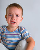 Crying boy — Stock Photo