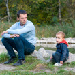 Father and son — Stock Photo #7019092