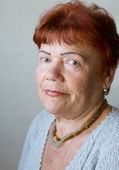 Seventy year old woman — Stock Photo