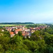 romantic village of schillingsfuerst in bavaria — Stock Photo