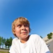 Young boy at the skate park — Stock Photo #6910110