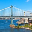 brooklyn bridge in new york — Stock Photo #6919370