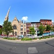 Ephesus Seventh-day church in Harlem, new York — Stock Photo