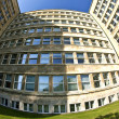 Famous IG farben house, former used as headquarter of the US Arm — Foto Stock