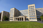 Famous IG farben house, former used as headquarter of the US Arm — Stock Photo