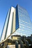 Skleněná fasáda moderní mrakodrap — Stock fotografie