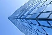 Glass facade of Modern skyscraper — Stock Photo