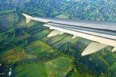 деталь крыла самолета — Стоковое фото