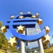 EURO Sign in Frankfurt — Stock Photo #7004693