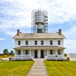 Bodie Island Lighthouse Being Renovated — Stock Photo