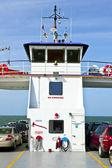 Autos en el ferry — Foto de Stock