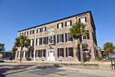Headquarter of Charleston Historic foundation, an old historic b — Stock Photo