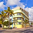 Stock Photo: Beautiful houses in Art Deco style in South Miami
