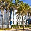 Beautiful houses in Art Deco style in South Miami — Stockfoto