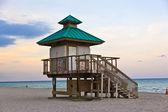 Sunset in Sunny Islands, Miami — Stock Photo