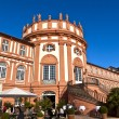 Famous Biebrich Palace in Wiesbaden - Stock Photo