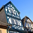 Stock Photo: Historic half timbered houses in Eltville