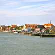 Town of Nordby on the island of Fano in Denmark from seaside — Stock Photo #7379528