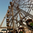 Enjoy the big wheel in the amusement park in Delhi in fro — Stock Photo #7679896