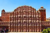 Hawa Mahal in Jaipur, Rajasthan, India. — Stock Photo