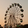 Enjoy the big wheel in the amusement park in Delhi in fro — Stock Photo #7680131