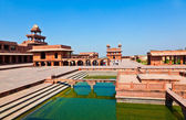 Fatehpur Sikri, India. It is a city in Agra district in India. I — Stock Photo
