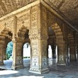 Inlaid marble, columns and arches, Hall of Private Audience or D - Stock Photo