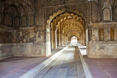 Inlaid marble, columns and arches, Hall of Private Audience or D — Stockfoto