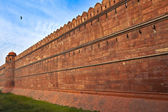 India, Delhi, the Red Fort, it was built by Shahjahan as the Del — Stock Photo