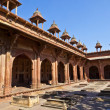 Jama Masjid in Fatehpur Sikri is a mosque in Agra, completed in — Stock Photo