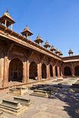 джама масджид в фатехпур сикри — мечеть в агре, завершено в — Стоковое фото