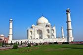 Taj mahal, na índia — Foto Stock