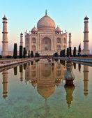Taj Mahal in India — Stock Photo