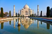 Taj mahal en la india — Foto de Stock