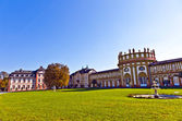 Famous Biebrich Palace — Stock Photo