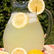 Stock Photo: Lemonade summer